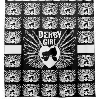 Derby Girl, Roller Derby Shower Curtain