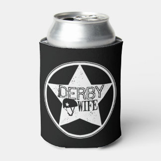 Derby Wife, Roller Derby Can Cooler