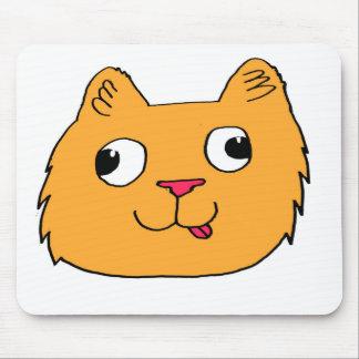 Derpy Cat Mouse Pad