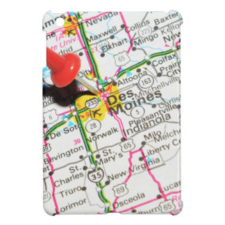 Des Moines, Iowa Case For The iPad Mini