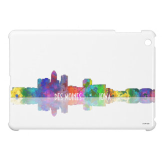 DES MOINES, IOWA SKYLINE - iPad Mini Case