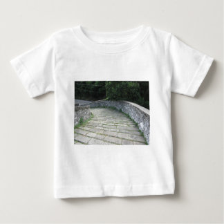 Descent stone walkway of medieval bridge baby T-Shirt