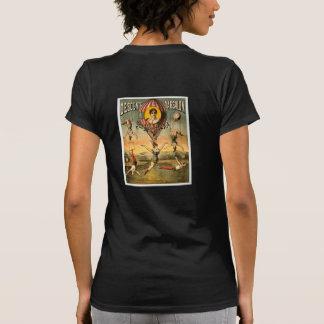 Descente d'Absalon par Miss Stena Vintage Circus T Shirt