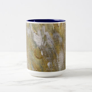 Desert Camo Two-Tone Coffee Mug