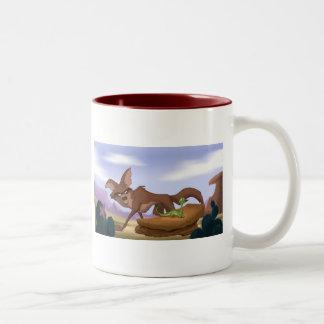 Desert Dessert Two-Tone Coffee Mug