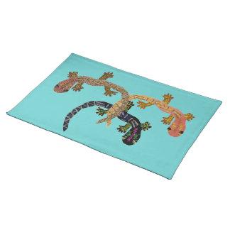 Desert Gecko Custom Placemats
