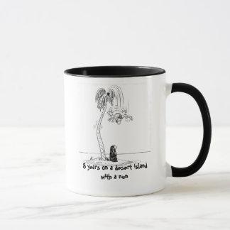Desert Island Nun Mug