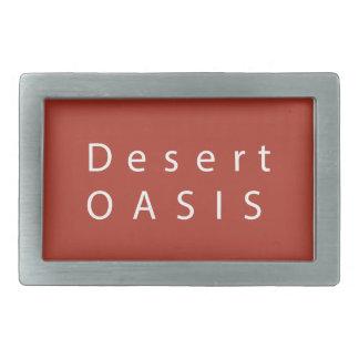 Desert Oasis Belt Buckle