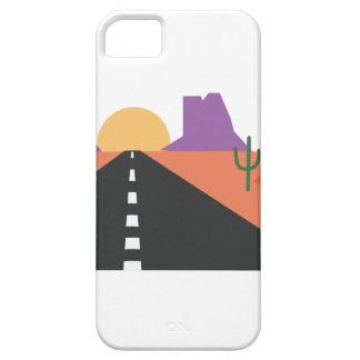 Desert Road iPhone 5 Cover