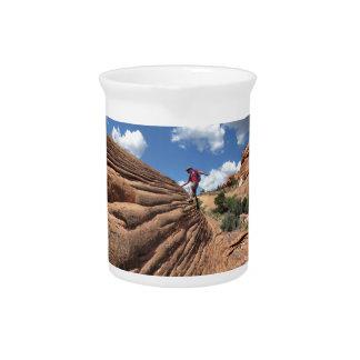 Desert Rocks - Grand Canyon - Thunder River Trail Pitcher