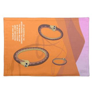 Desert Roller Snake Placemat