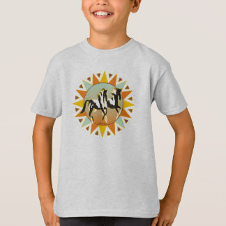 Desert Star Paint Horse Kids T-Shirt