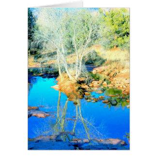 Desert stream in Sedona, Arizona Card