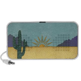 Desert Sunset Mp3 Speakers