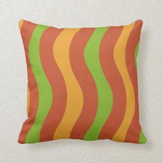 Desert Wavy Stripes Cushion