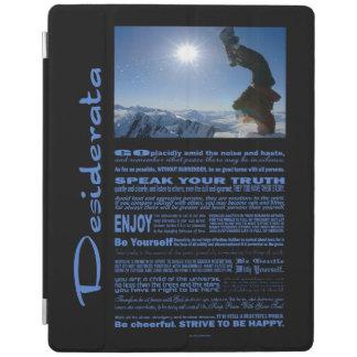 Desiderata Poem Snowboard Extreme iPad Cover