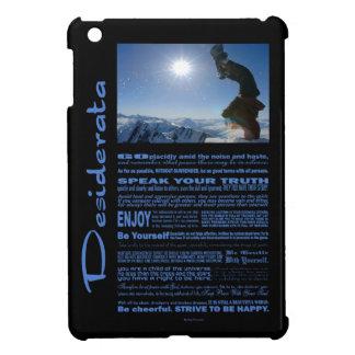 Desiderata Poem Snowboard Extreme iPad Mini Case