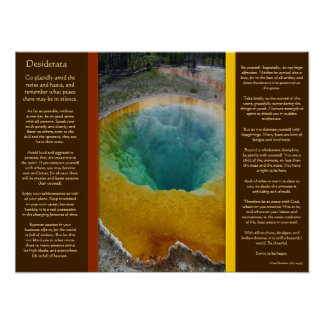 DESIDERATA Water Hole Posters