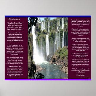 DESIDERATA Waterfalls Posters 3