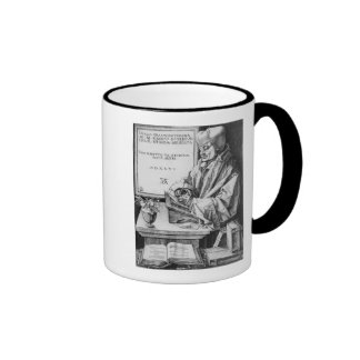 Desiderius Erasmus  of Rotterdam, 1526 Ringer Mug