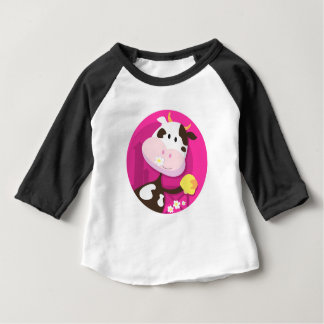 Design collection with Cow and Bell Baby T-Shirt