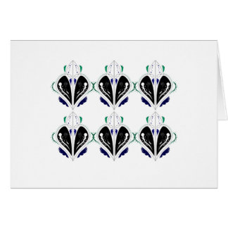 Design elements tattoo card