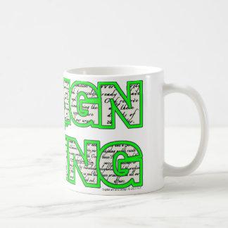 Design for Living Mug sobercards.com