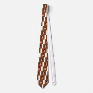Design geisha Ethno Brown Tie
