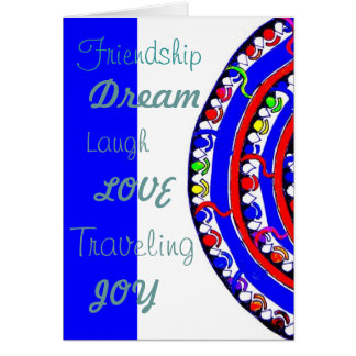 Design greeting cards with envelope
