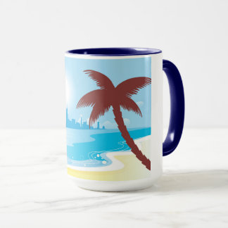 Design mug with Beach theme