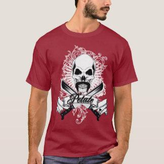 """Design of Beach Bed roll """"Machete """" T-Shirt"""