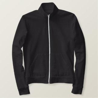 Design Your Mens Sports Team Fleece Track Jacket! Embroidered Jacket