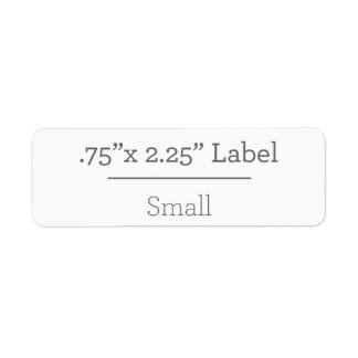 Design Your Own 8.5 X 11 Label