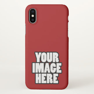 Design Your Own Easy To Customise iPhone X Case