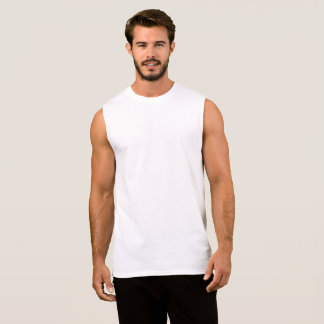 Design Your Own Mens Sleeveless Shirt