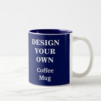 Design Your Own Mug - Blue