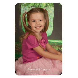Design Your Own Personalised Photo Magnet Template