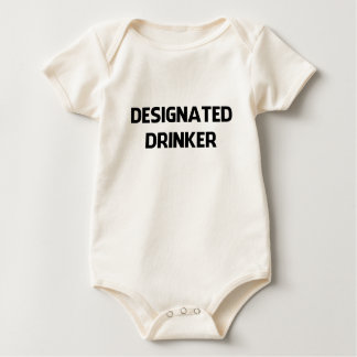 DESIGNATED DRINKER 1 BABY BODYSUIT
