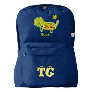 Designed by a Kid Roar American Apparel™ Backpack