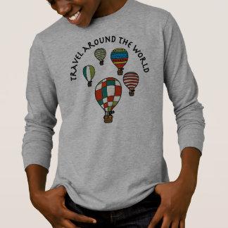 Designer Cute Whimsical Hot Air Balloons T-Shirt