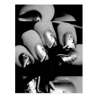Designer Fingernails Postcards