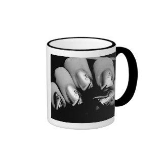 Designer Fingernails Ringer Mug