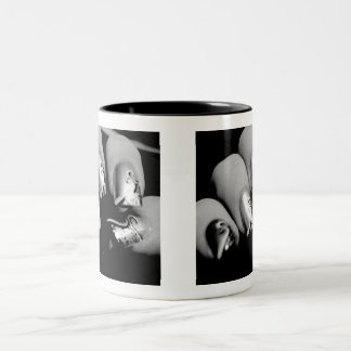 Designer Fingernails Two-Tone Mug