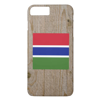 Designer Gambia Flag Box iPhone 8 Plus/7 Plus Case