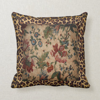Designer Leopard Pillow