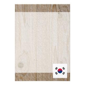 Designer South Korea Flag Box 13 Cm X 18 Cm Invitation Card