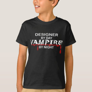 Designer Vampire by Night T-Shirt