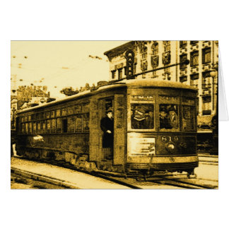 Desire Streetcar on Canal St Card