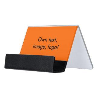 Desk Business Card Holder uni Orange