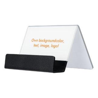 Desk Business Card Holder uni White - Own Color